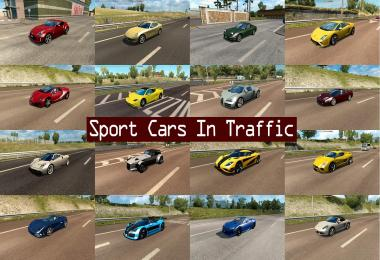 Sport Cars Traffic Pack by TrafficManiac v1.6