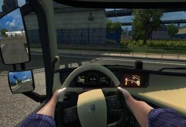 Steering Hands Mod (only for base trucks in scs game) v1.0