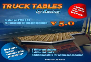 Truck Tables by Racing v5.0 1.31.x
