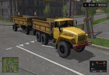 Ural 5557 + Trailer v2.0 by Evgen333