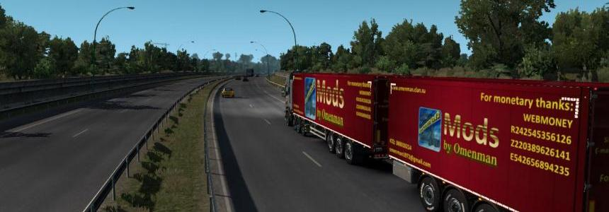 Unlocked Scandinavian semitrailers by OveRTRucK