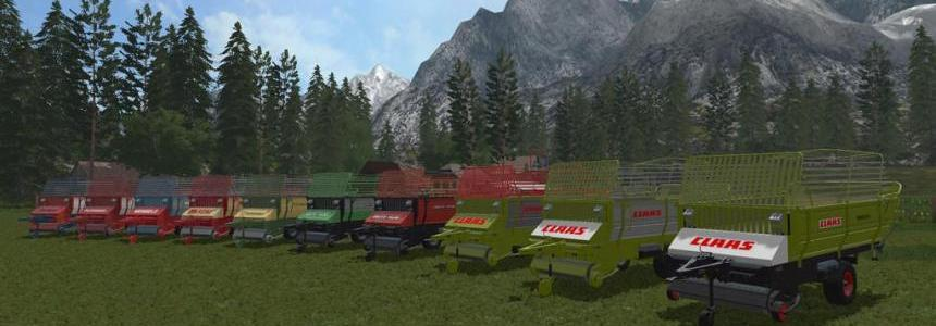 Old Forage Wagons v1.1.0.0