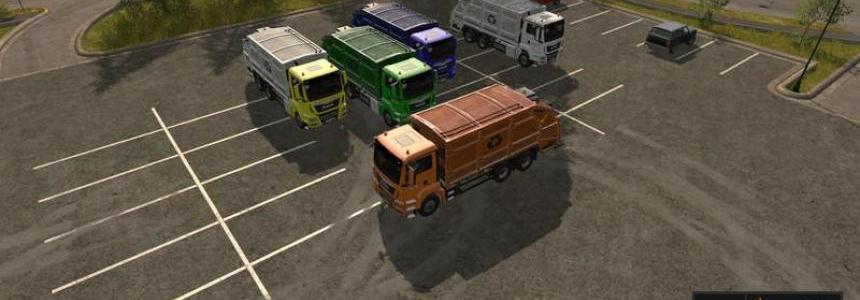 MAN garbage truck v1.0