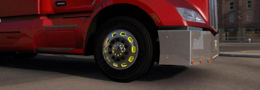 American Pro Truckers Wheel and Accessories Pack v1.0
