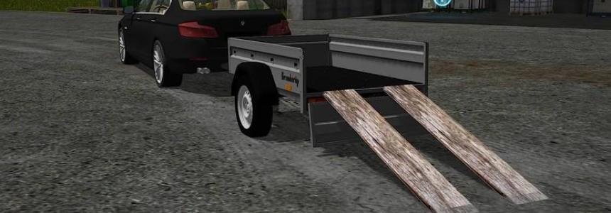 Brenderup 1-axle trailer v1.1