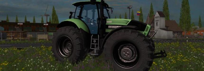 Deutz Agrotron X720 black wheels v1.3