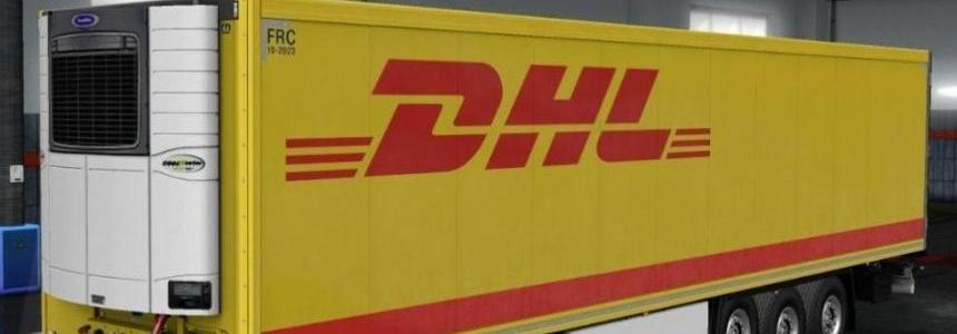 DHL Trailer Krone DLC 1.32.x
