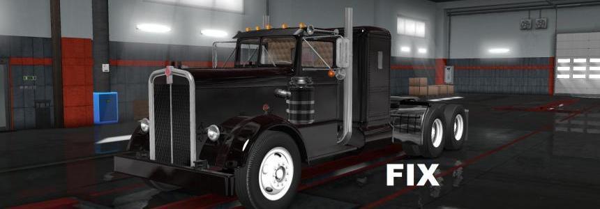 Fix for truck Kenworth 521 v1.0