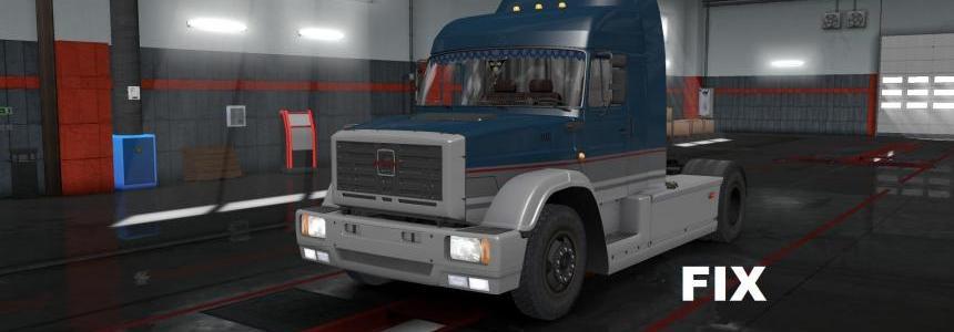 Fix for truck Zil-5423 MMZ v1.0