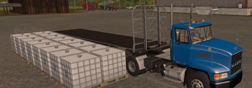 Fliegl Universal Semitrailer UAL v1.1
