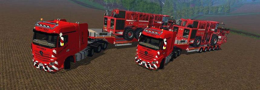 FS17 Mercedes Actros MP4 SLT v1.0