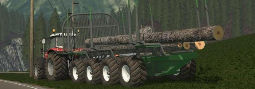 John Deere Timber Trailer v1.18