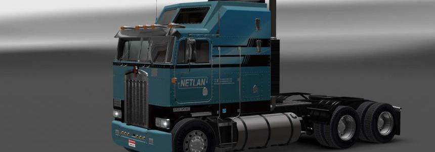 KENWORTH K100 NETLAN SKIN v1.0