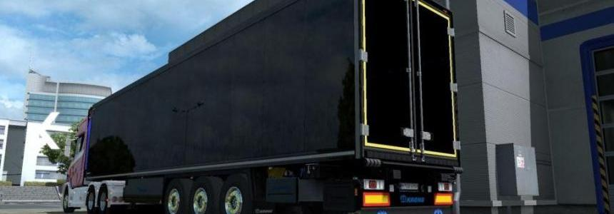 Krone Trailers Paintable Parts with Logos v1.0