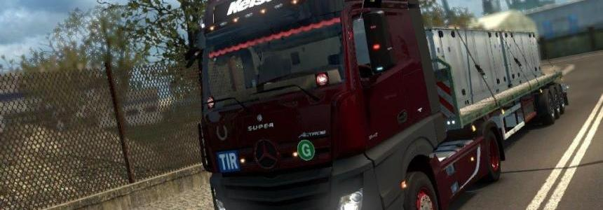 Mercedes Actros MP4 by Taina95 1.31 - 1.32.x