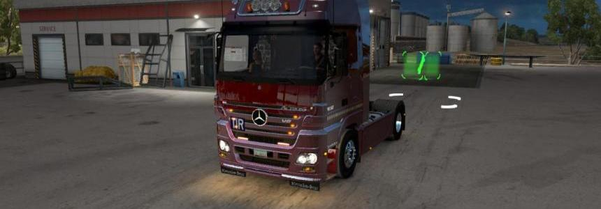 Mercedes Benz MP2 for ATS Fixed + Standalone v1.0