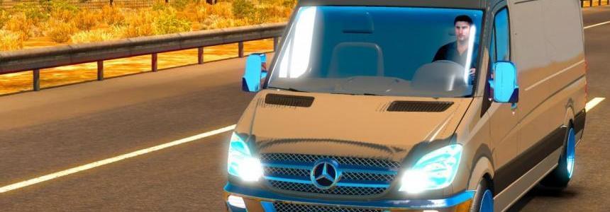 Mercedes Sprinter 2015 ATS 1.31.x & 1.32.x