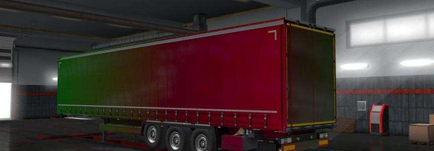Metallic for Krone trailer pack v1.0