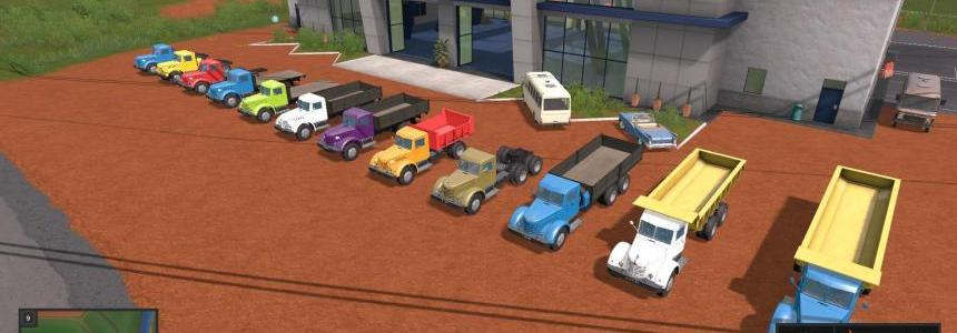 Pack MAZ / YAAZ 200 + Trailers v1.1.0