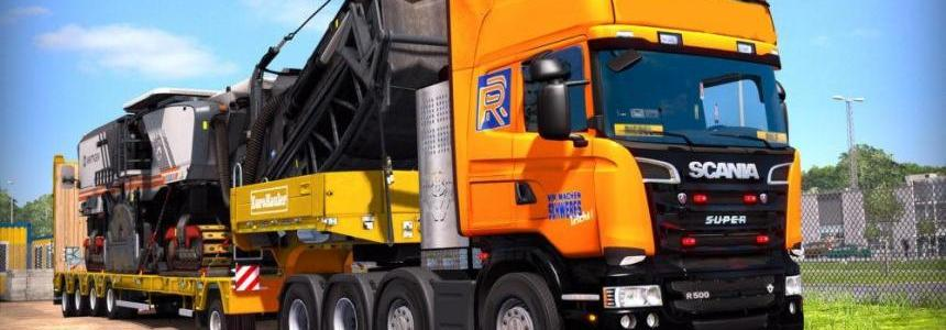 Scania Trucks Stock Sound Mod v1.0