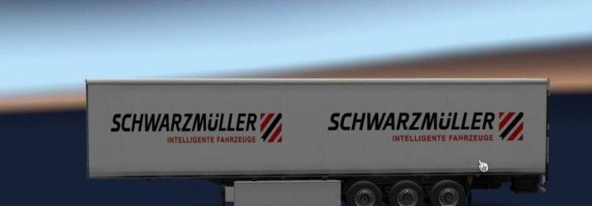 Schwarzmuller White Trailer v1.0