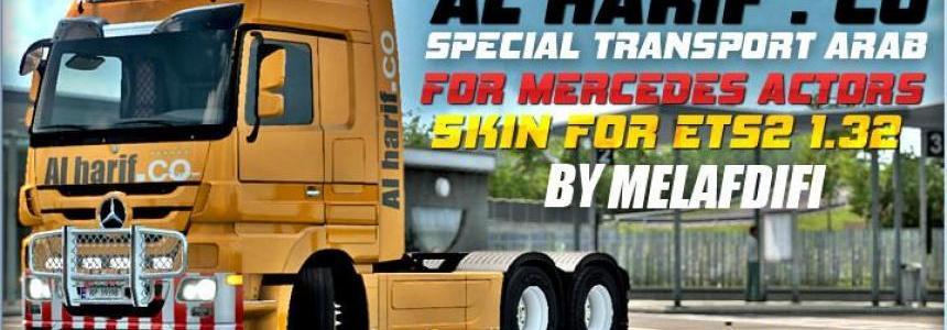 Skin Al Harif . Co Special Transport For ETS2 1.32