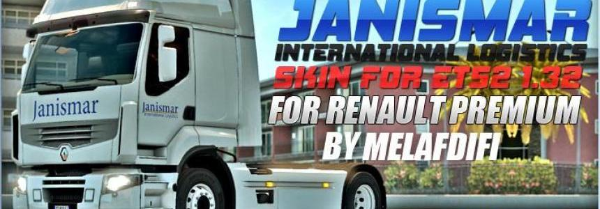 Skin JANISMAR For ETS2 1.32