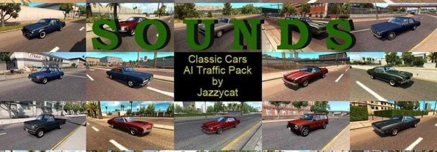 Sounds for Classic Cars AI Traffic Pack by Jazzycat v2.2