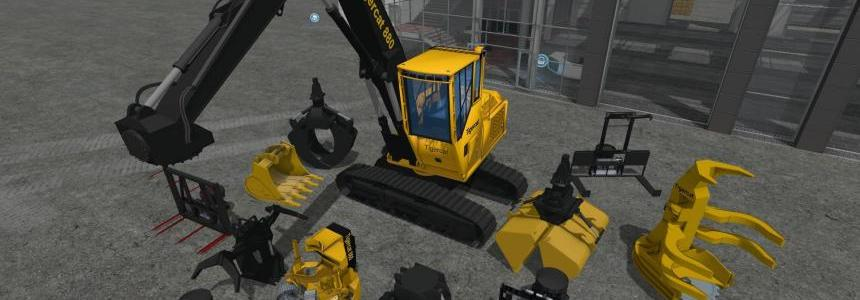 Tigercat 880 with tools v1.0