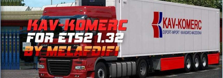 Trailer KAV-KOMERC For ETS2 1.32