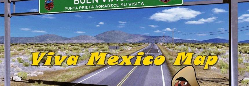 Viva Mexico Map v2.4.5 new fix + HBS v1.9 AiO 1.32.x