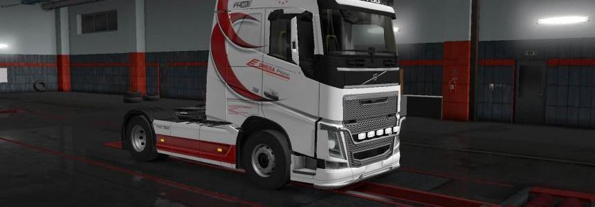 Volvo FH16 2012 Omega skin 1.32
