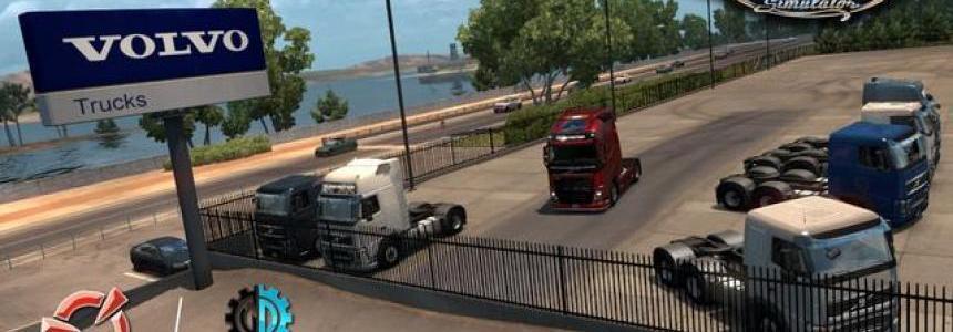 Volvo Trucks Mod v3.8 by Frkn64
