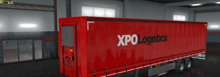 XPO Logistics Trailer v1.0