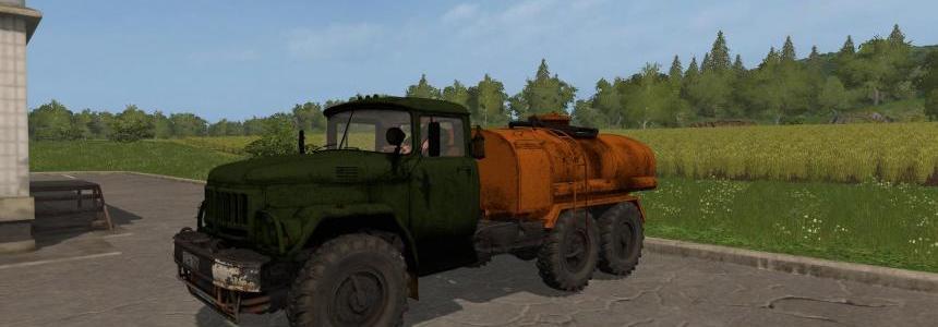 ZIL-131 Tank Gasoline v1.2