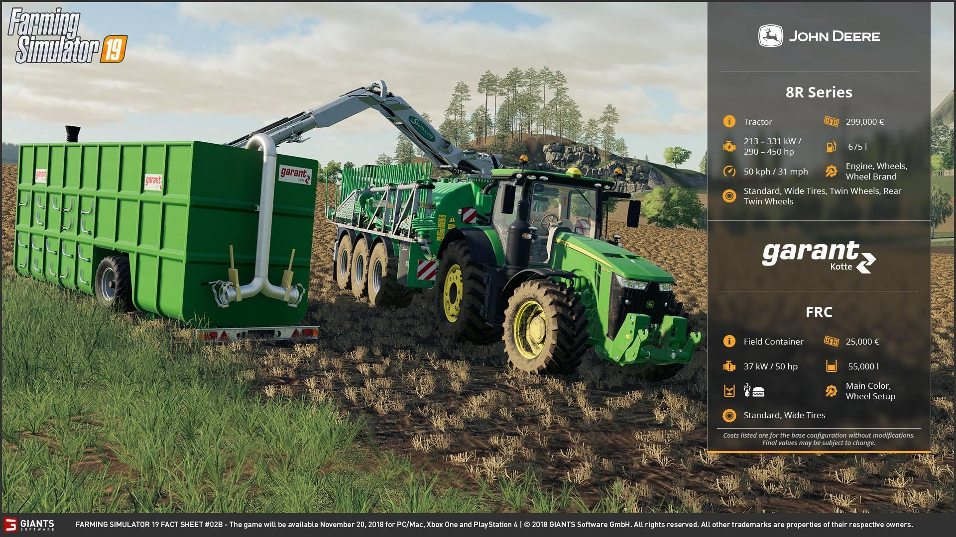 Farming simulator 19 FACT SHEET #2 - Modhub us