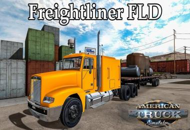 [ATS] Freightliner FLD v2.0 (updated) 1.32.x