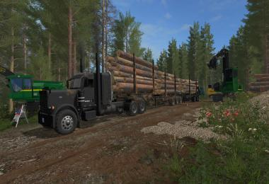 Super B Log Trailers v1.0