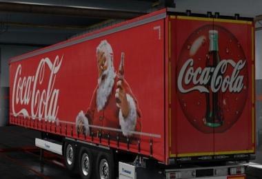 Coca Cola Christmas Trailer – Krone Owned 1.32