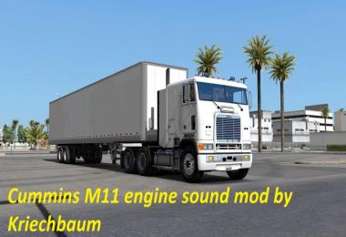 Cummins M11 Engine Sound Mod v1.0