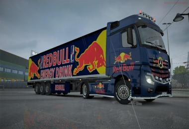 ETS 2 MP REDBULL SKIN CAMBO PACK Full Save 1.31.x