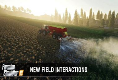 Farming Simulator 19: New field interactions