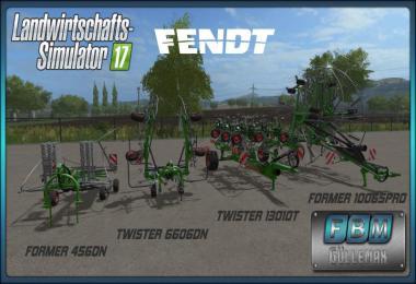 Fendt Twister 6606DN/13010T + Former 456DN/10065Pro DH v1.0