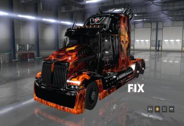 Fix for a truck Western Star 5700 v1.0