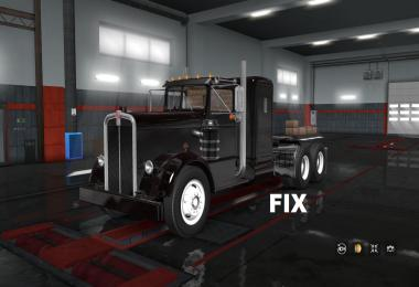 Fix for truck Kenworth 521 v1.0