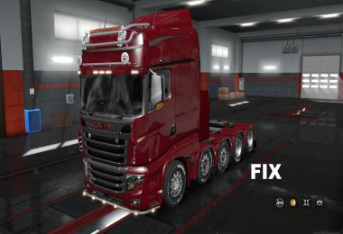 Fix for truck Scania R700 AU44 v1.0