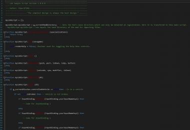 FS17 LUA Script v1.0.0.0