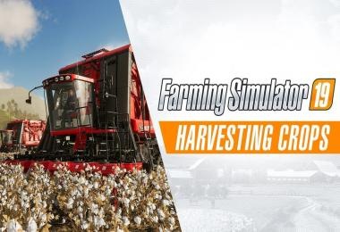 Harvesting Crops Gameplay Trailer