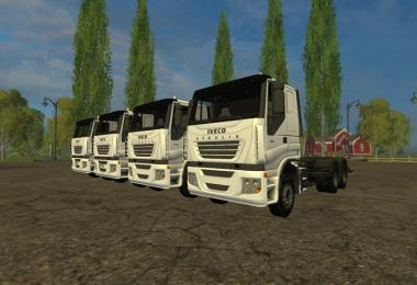 Iveco Stralis Trucks pack v1.1