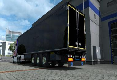 Krone Trailer Painted Parts with Logos v1.1
